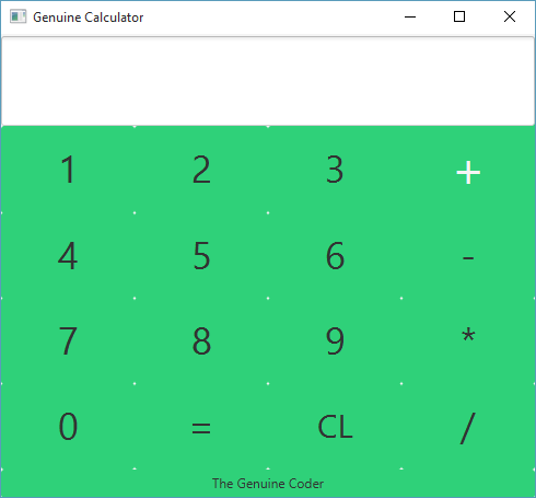 Making Calculator in JavaFX (with Source Code)