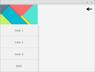 How to make Navigation Drawer (Side Panel) in JavaFX